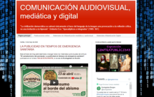 Blog de comunicación audiovisual, mediática y digital