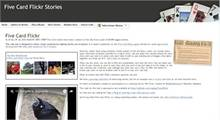Recursos per a l'aula: Five Card Flickr Stories